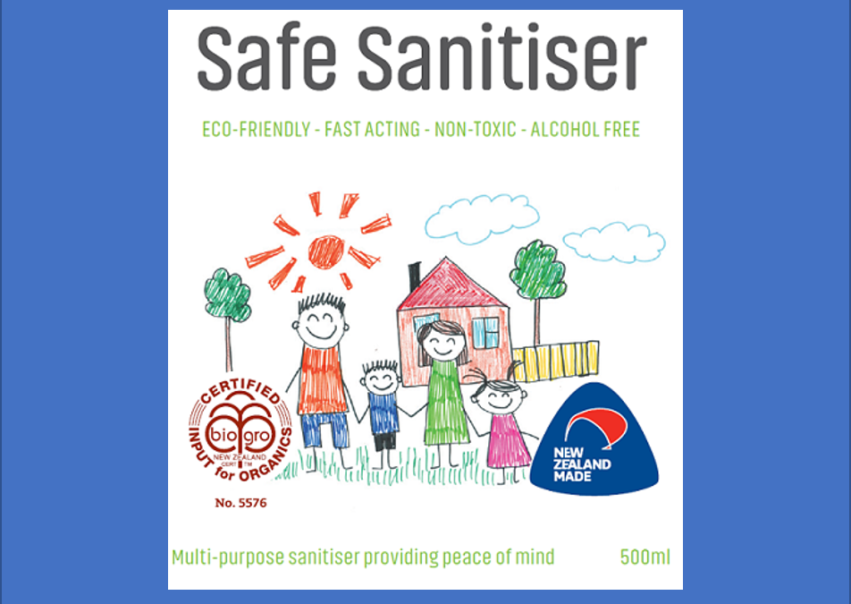 Alcohol Free Non-Toxic Safe Sanitiser